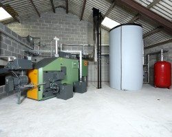 Wood-burning Biomass Boilers for District Heating Systems